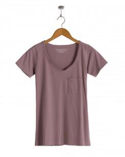 Foster V-Neck T-Shirt Quail