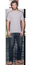 neushop men cotton t-shirt  Lysell  Lilac Hint