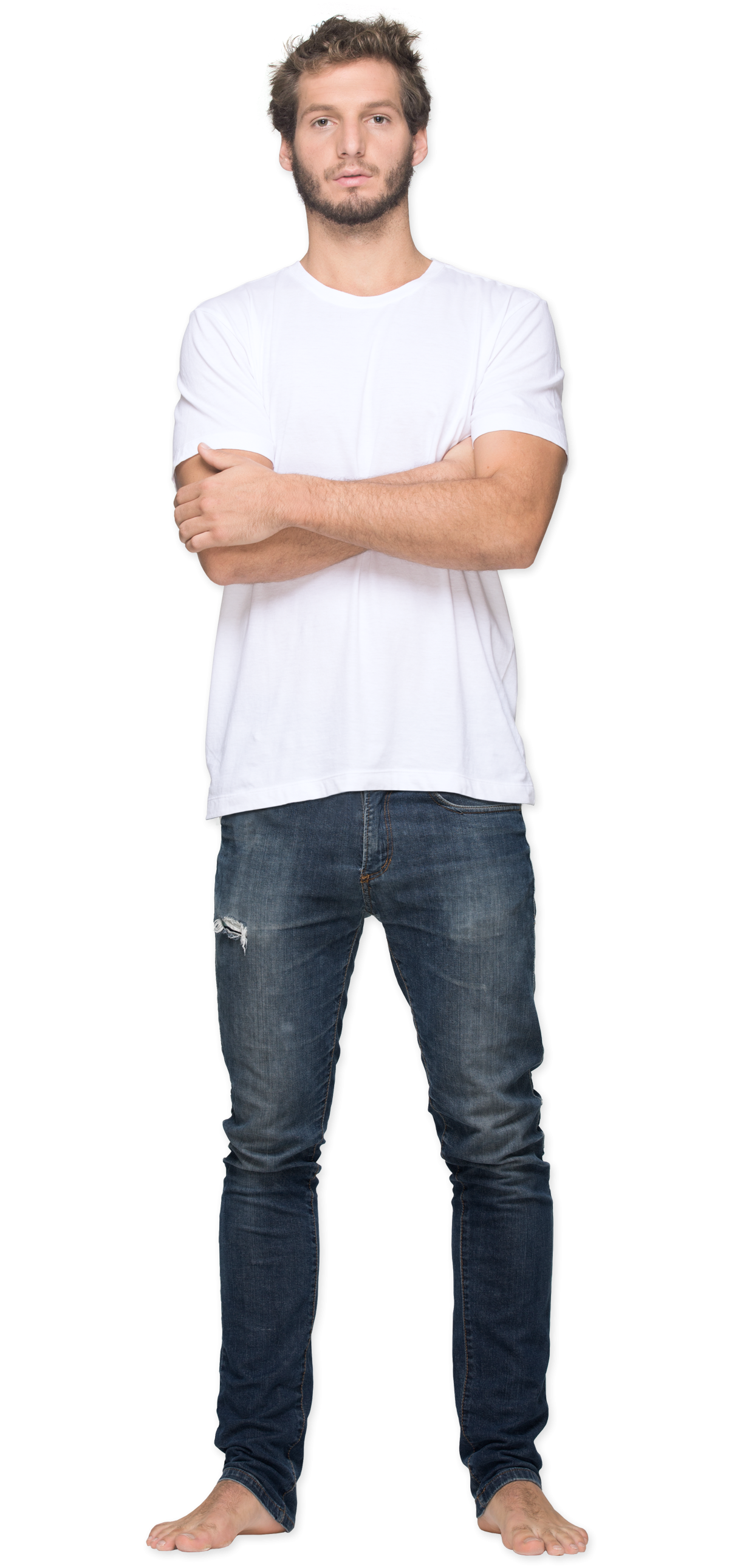 Fashion V Neck Mens T Shirts On A Rack