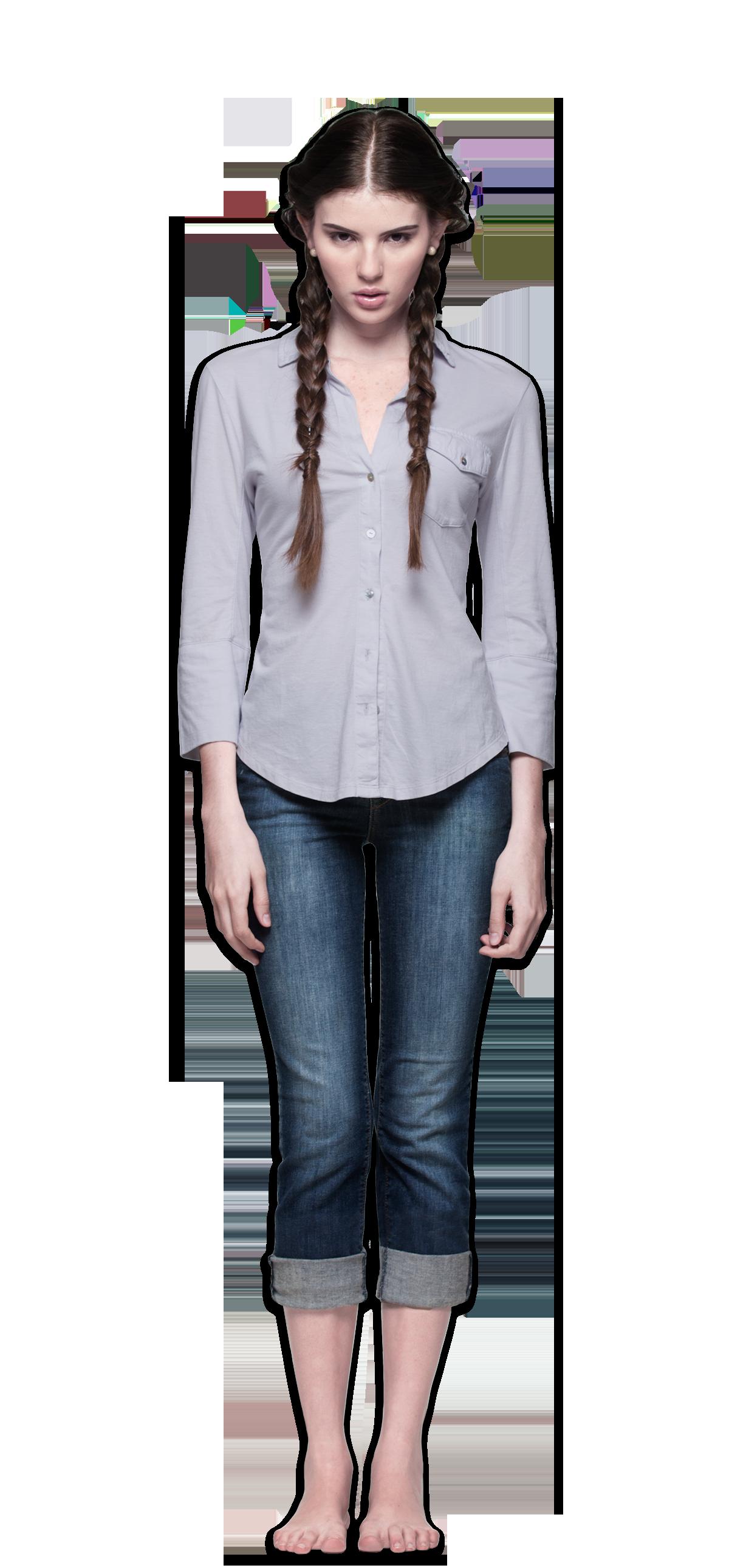 3/4 shirt women's