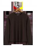 neushop women cotton t-shirt  Corbi Seal Brown