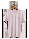 neushop men cotton t-shirt  Lysell  Gray Lilac