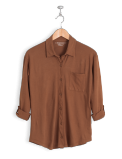 neushop-women-hoffman-cotton-shirt-root-beer