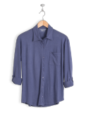 neushop-women-hoffman-cotton-shirt-skipper-blue