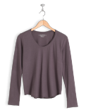 neushop-women-cotton-t-shirt-eero-black-plum