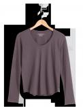 neushop-women-cotton-t-shirt-eero-black-plum