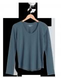 neushop-women-cotton-t-shirt-eero-china-blue