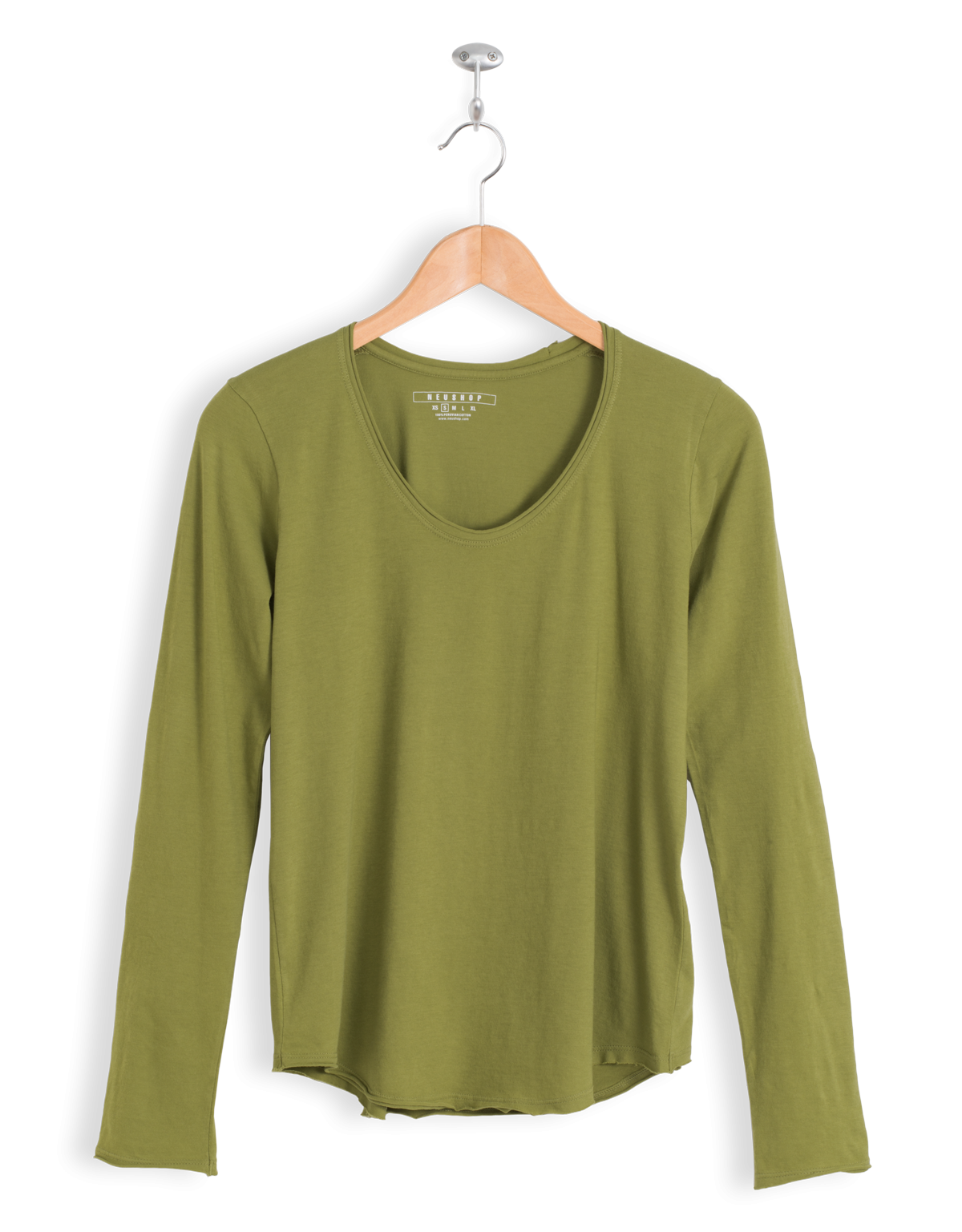 Neushop Women's Eero 100% Cotton Long Sleeve Premium T-Shirt