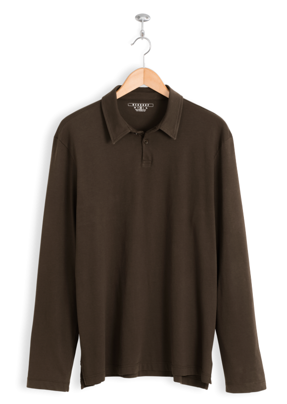 neushop-man-polo-scott-cotton-shirt-chestnut