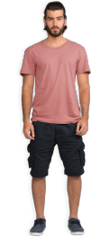 neushop-man--frank-cotton-t-shirt-old-rose-front