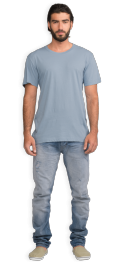 neushop-man--frank-cotton-t-shirt-ashley-blue-front