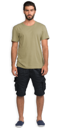 neushop-man--frank-cotton-t-shirt-sage-front