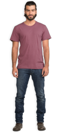 neushop-man--frank-cotton-t-shirt-mellow-mauve-front