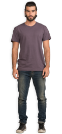 neushop-man-frank-cotton-t-shirt-black-plum-front
