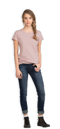 neushop-women-cotton-t-shirt-meda-pale-mauve-front