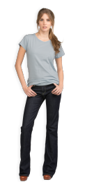 neushop-women-cotton-t-shirt-celestial-blue-front