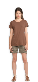 neushop-women-cotton-t-shirt-meda-cognac-front