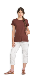 neushop-women-cotton-t-shirt-meda-red-mahogany-front