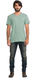 neushop-man-frank-cotton-t-shirt-granite-green-front