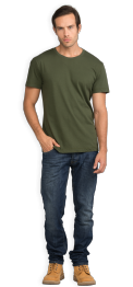neushop-man-frank-cotton-t-shirt-riffle-green-front