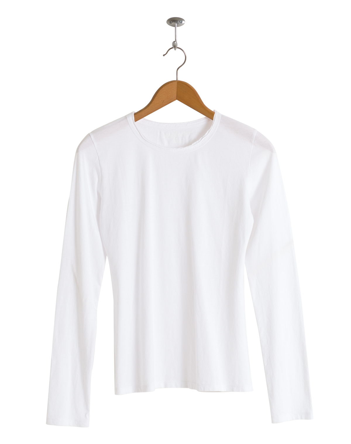 Neushop Women's Corbi 100% Cotton Long Sleeve Premium T-Shirt