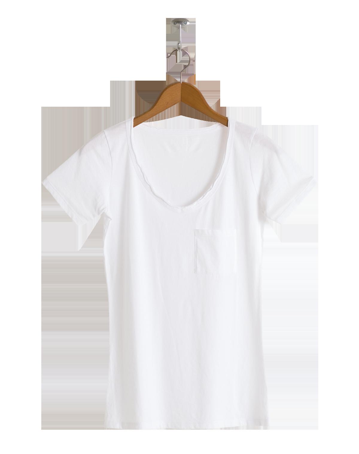 T shirt white png - Neushop Women Foster Tshirt White