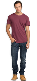 neushop-man-frank-cotton-t-shirt-amaranth