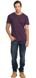 neushop-man-frank-cotton-t-shirt-shadow-purple