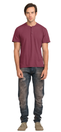 neushop-man-loewy-cotton-t-shirt-amaranth