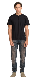 neushop-man-loewy-cotton-t-shirt-black
