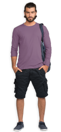 neushop-man-arthur-cotton-t-shirt-grapeade