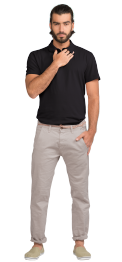 neushop-man-polo-louis-cotton-t-shirt-black