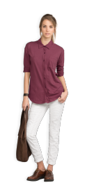 neushop-women-hoffman-cotton-shirt-amaranth