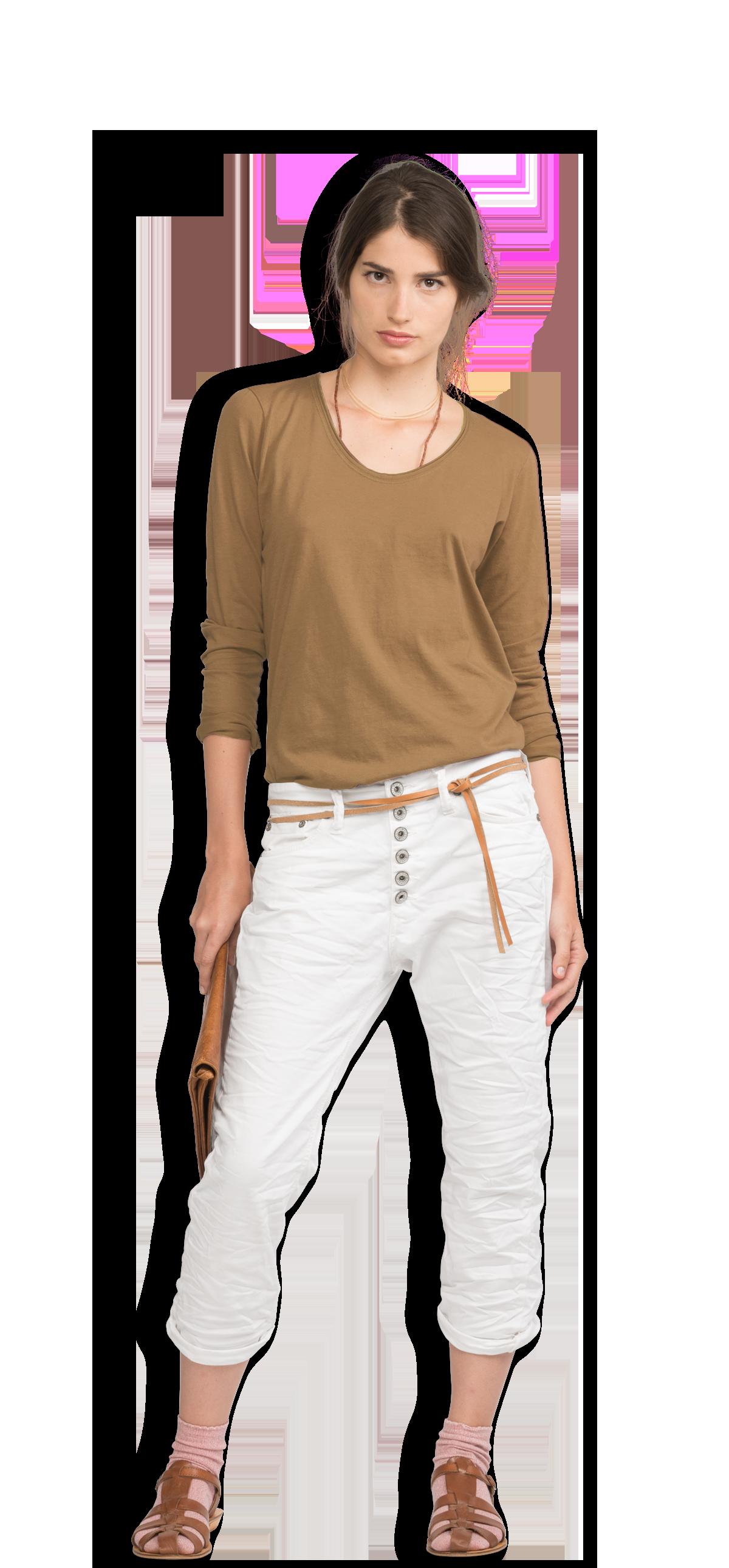 Neushop Women s Eero 100% Cotton Long Sleeve Premium T-Shirt 1a6630af81