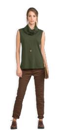 neushop-women-arad-cotton-shirt-rifle-green
