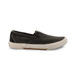 neushop_15SE-02 Washed Canvas Slip-On_black_1