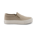 neushop_ 15SE-03 Platform Canvas Slip-On_khaki_1