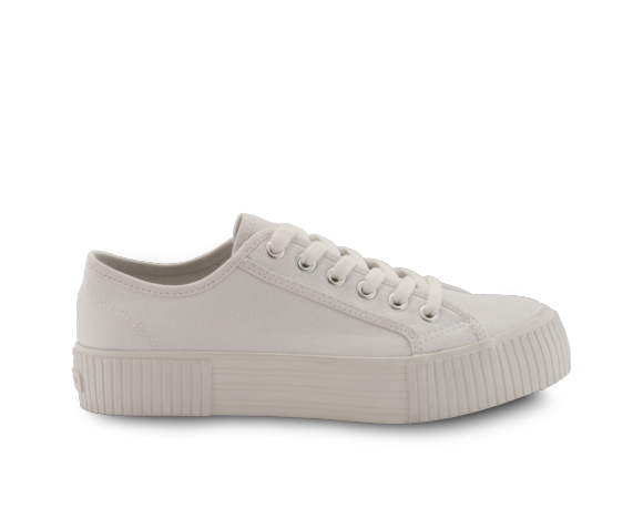 neushop_15SE-04 Platform Canvas Sneakers_White_1