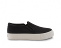 neushop_ 15SE-03 Platform Canvas Slip-On_black_1