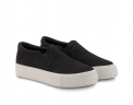 neushop_ 15SE-03 Platform Canvas Slip-On_black_2