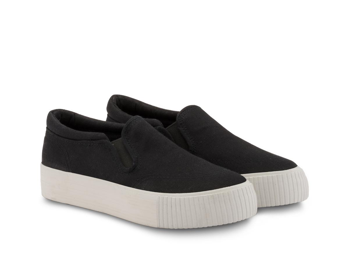 2fbe82f46 Neushop • Women Shoes • 15SE-03 Platform Canvas Slip-On