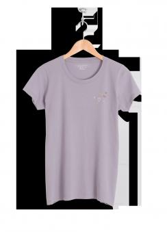 Zaina Natour Meda T-shirt lavander aura