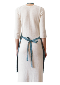 Neushop | Linen Tales Regular Apron Blue Fog