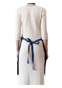 Neushop | Linen Tales Regular Apron Midnight Blue