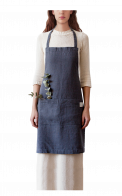 Neushop | Linen Tales Regular Apron Dark Grey
