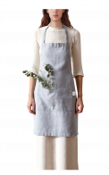 Neushop | Linen Tales Regular Apron Light Grey