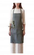 Neushop | Linen Tales Regular Apron Forest Green