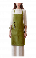 Neushop | Linen Tales Regular Apron Moss Green