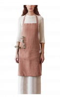 Neushop | Linen Tales Regular Apron Cafe Creme