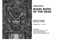 neushop, downtown, miami, events, Ximena Fuentes Pop-Up Show: Miami Book of the Dead, photo